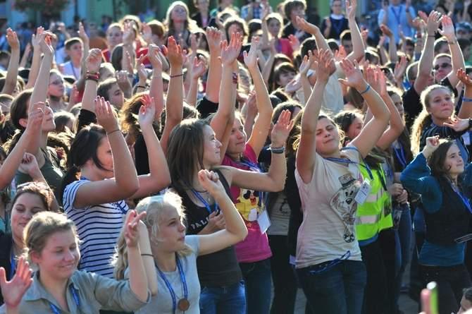Wyjazd na spotkanie młodych w Tarnowie.
